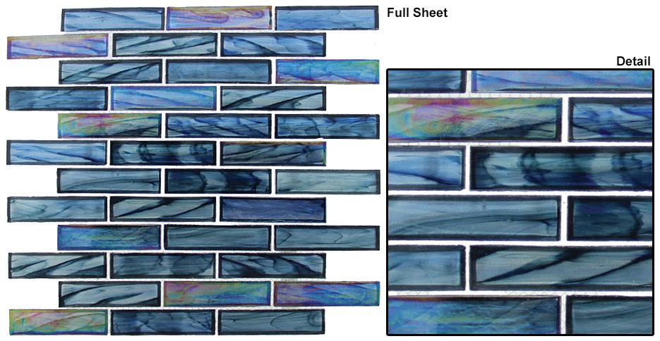Cobalt Sea (1×4 Random Brick)