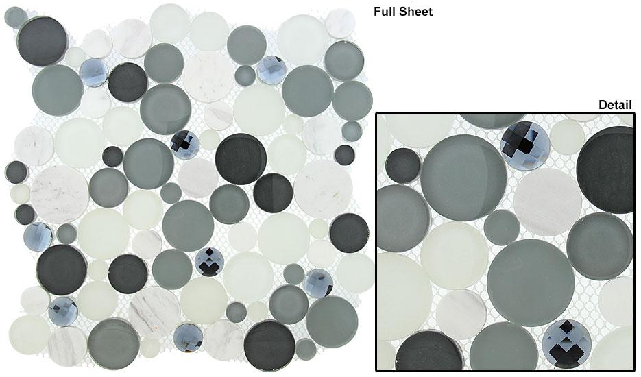 Grey Fizz (12X12 Sheet)