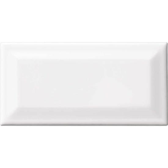 MATTE DESIGNER WHITE 3 X 6 BEVEL