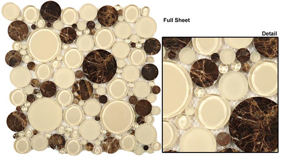 Warm Brownie 12 x 12 Sheet