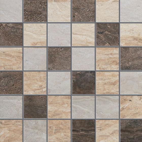 Warm Mosaic Mix 2×2