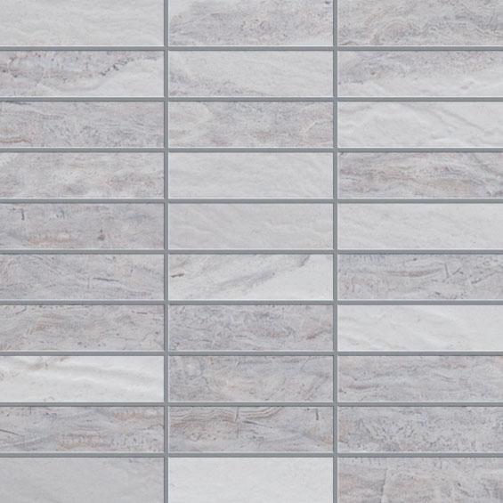 White Mosaic 1.25×4