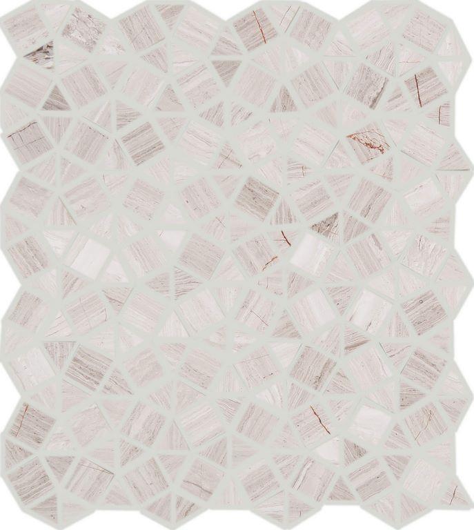 Contour Geometrix White Wood