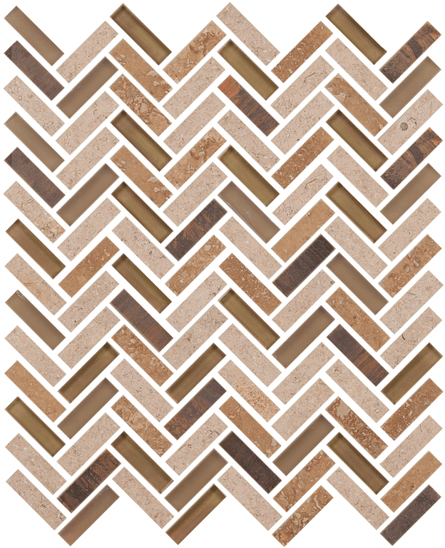 Imagination Herringbone Russet Peak