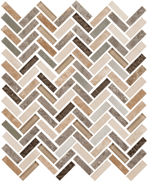 Imagination Herringbone Silver Shadow