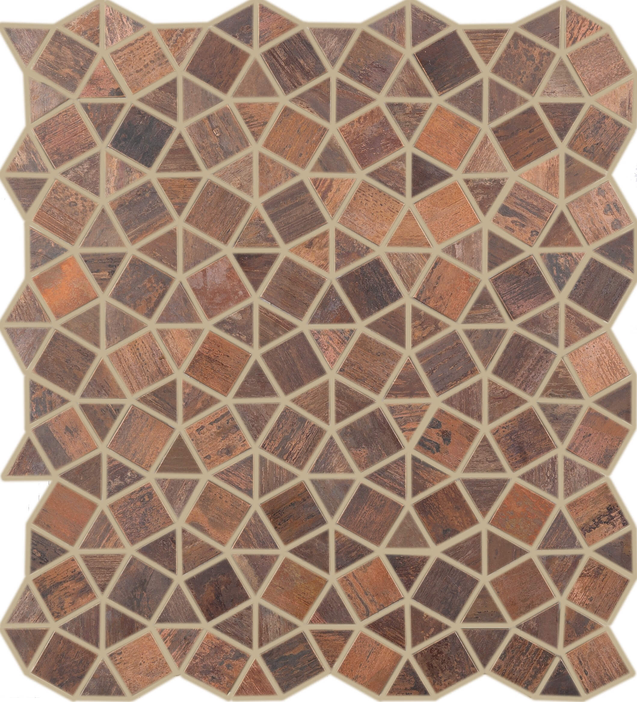 Metallix Miscellaneous Designs – Antique Copper Geometrix