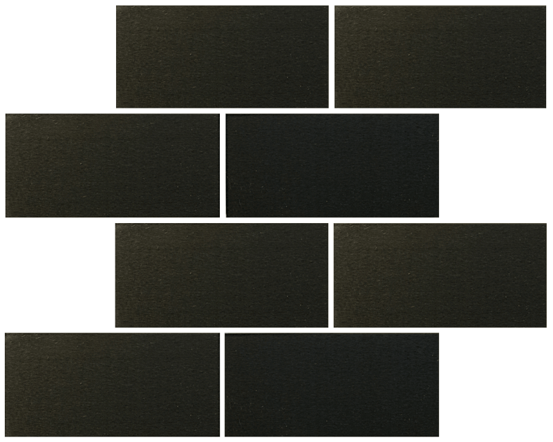 Metallix Miscellaneous Designs – Brushed Gun Metal Straight