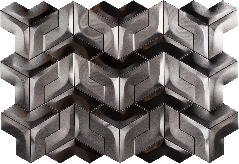 Metallix Miscellaneous Designs – Brushed Gun Metal Windmill