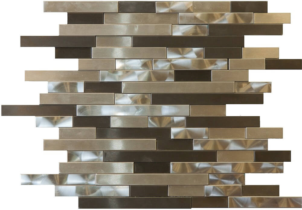 Metallix Miscellaneous Designs – Mixed Metal 3D Random Linear