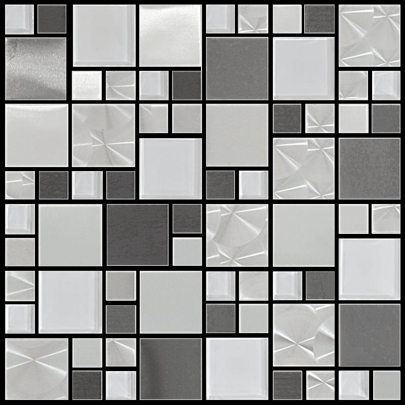 Metallix Miscellaneous Designs – Mixed Metal Glass Versi