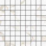 Blast Calacatta 1 X 1 Mosaic 12 X 12 Sheet