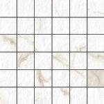 Blast Calacatta 2 X 2 Mosaic 12 X 12 Sheet