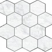 Blast Gioia Hexagon Mosaic 12 X 12 Sheet
