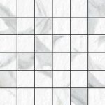 Blast Statuario 2 X 2 Mosaic 12 X 12 Sheet