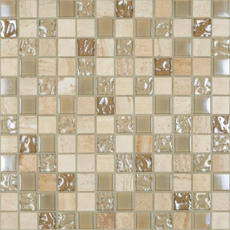 Cordoba Beige 1 x 1 Mosaic 12 x 12 Sheet