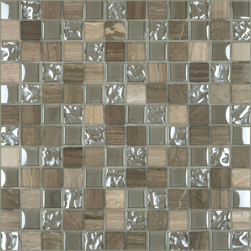 Cordoba Grey 1 x 1 Mosaic 12 x 12 Sheet