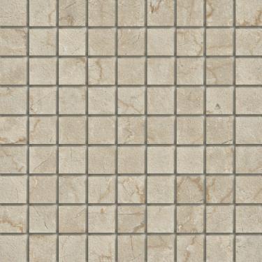 Marmi Botticino 1.5 X 1.5 Mosaic 12 X 12 Sheet