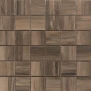 Paint Stone Brown 2 X 2 Mosaic 12 X 12 Sheet