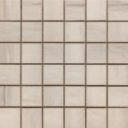 Paint Stone White 2 X 2 Mosaic 12 X 12 Sheet