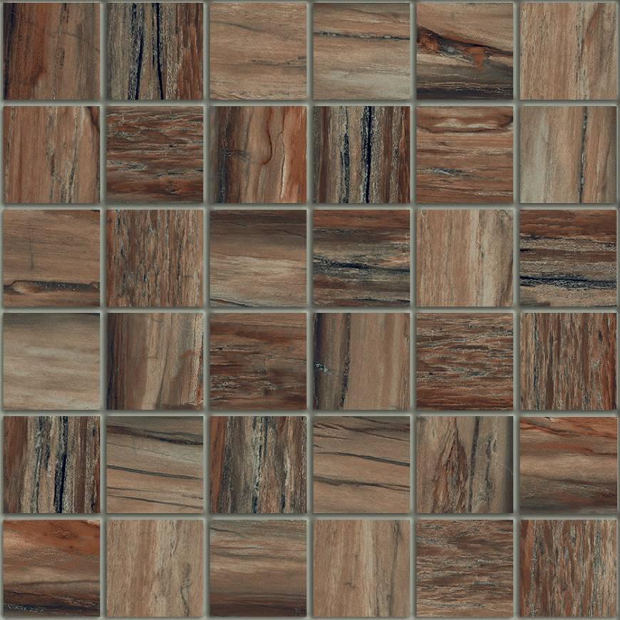 Petrab Bark 2 X 2 Mosaic 12 X 12 Sheet