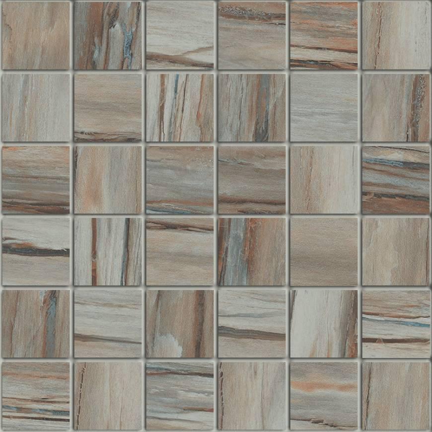 Petrab Leaf 2 X 2 Mosaic 12 X 12 Sheet