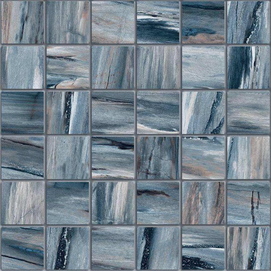 Petrab River 2 X 2 Mosaic 12 X 12 Sheet