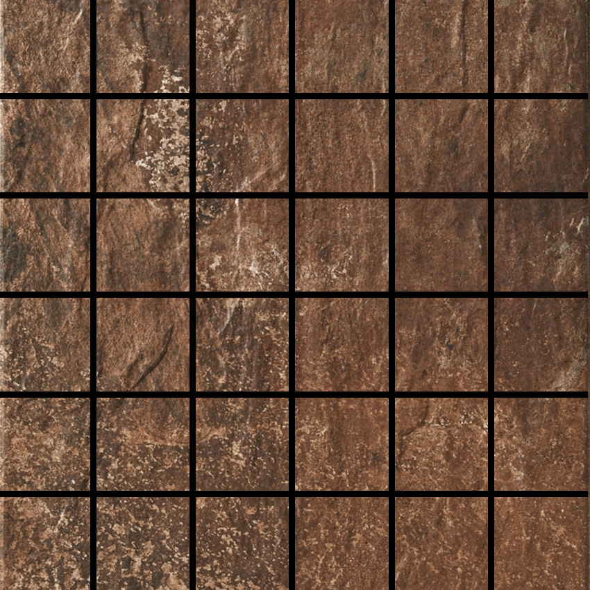 Slate Brown 2 X 2 Mosaic 12 X 12 Sheet