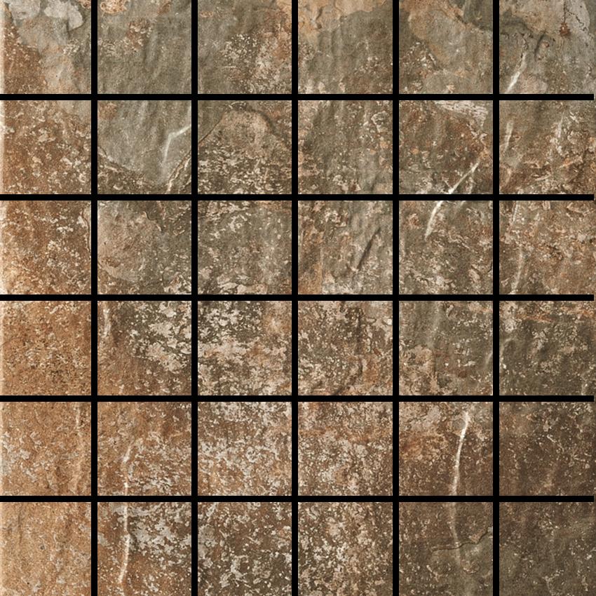 Slate Multi 2 X 2 Mosaic 12 X 12 Sheet