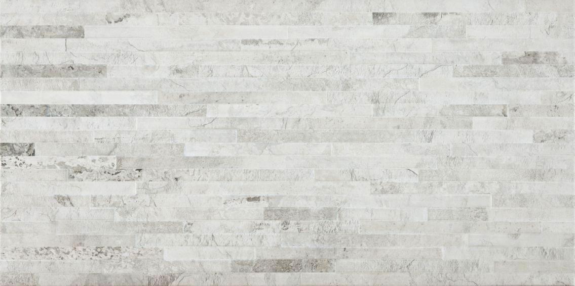Slate White 12 X 24 Muro