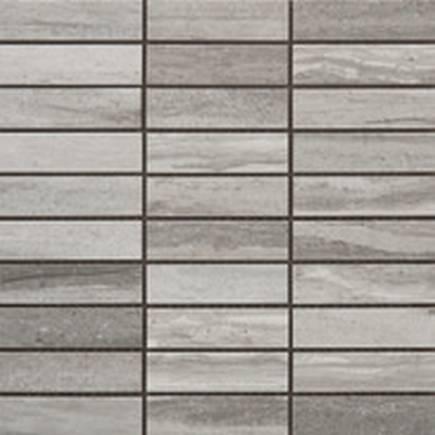 Tivoli Grigio 1.25 X 4 Mosaic 12 X 12 Sheet