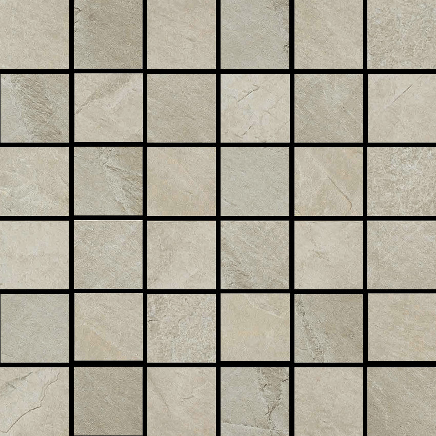 X-Rock B 2 X 2 Mosaic 12 X 12 Sheet