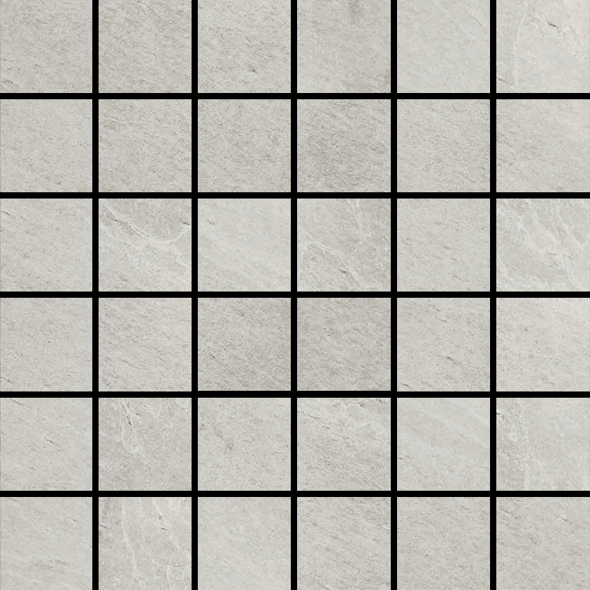 X-Rock W 2 X 2 Mosaic 12 X 12 Sheet